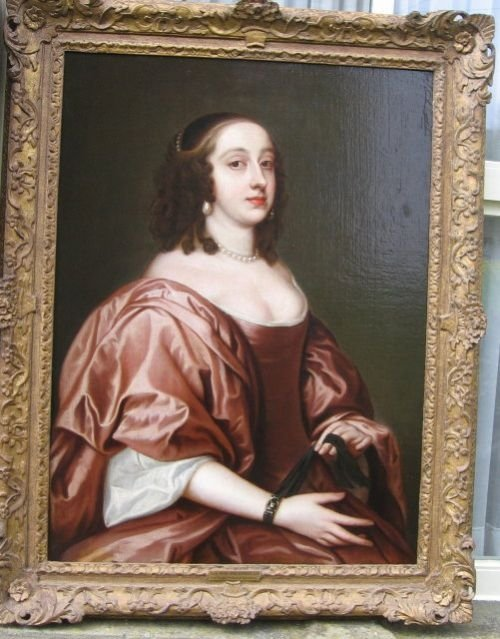 portrait of lady mary montgomerie c1666 attributed to john hayls
