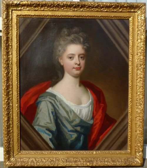 portrait of a lady c1720 attributed to jonathan richardson