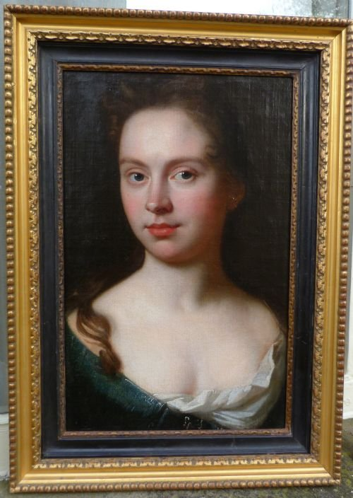 soldportrait of a young lady c1695 attributed to john closterman