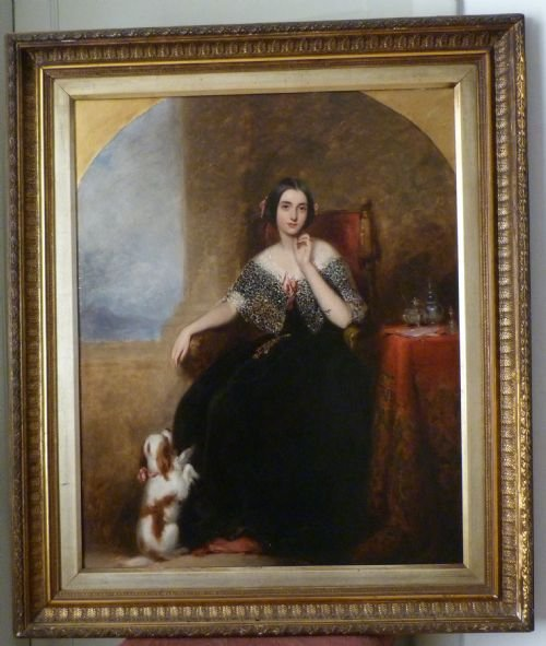 soldportrait of matilda marryat 1843 by richard buckner