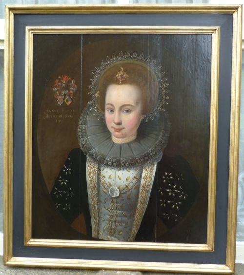 portrait of a young noblewoman 1611 follower of van mierevelt