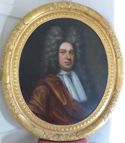 portrait of william dewe c 1690 circle of john riley