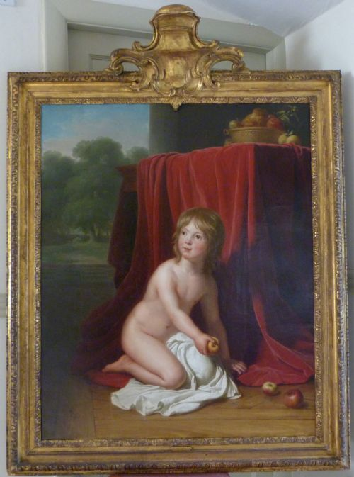 portrait of a young child 1797 attributed to jeanneelisabeth chaudet