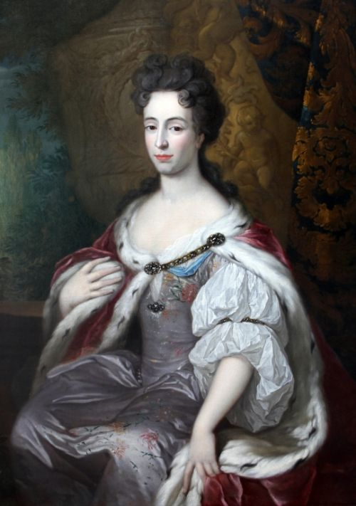 portrait of mary of modena attributed to caspar netscher