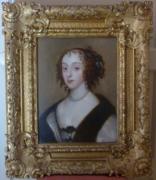 portrait of lady mary villiers c1640 attributed to theodore russell