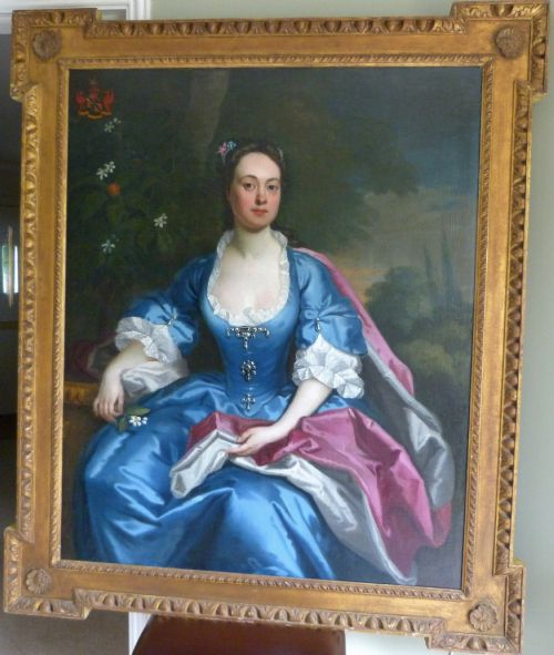 portrait of elizabeth duchess of marlborough c1730 attributed to maria verelst