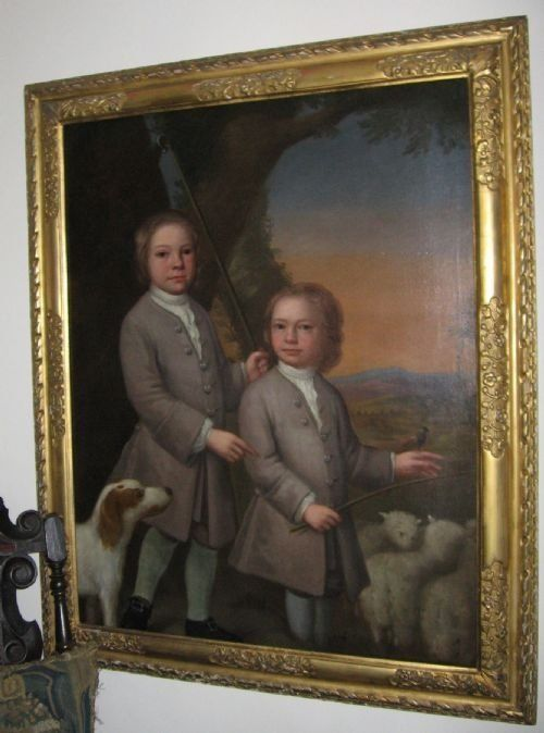 double portrait of two boys c1740 follower of charles jervas