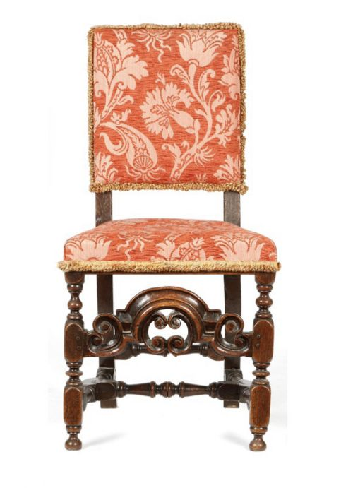 william and mary oak chair c1690