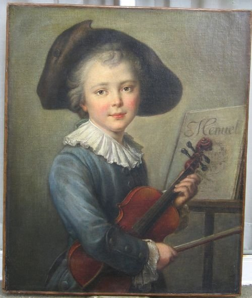 soldportrait of a young boy c1770 circle of francoishubert drouais