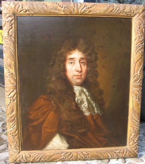 soldportrait of charles le brun c1670 circle of john riley