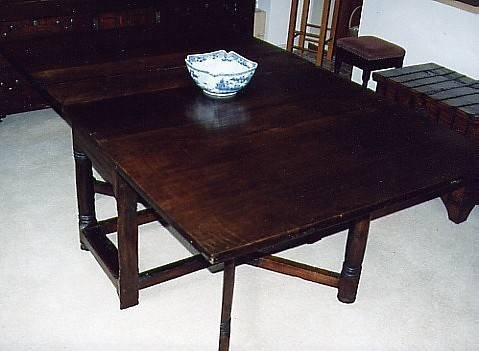 18th c french gateleg dining table