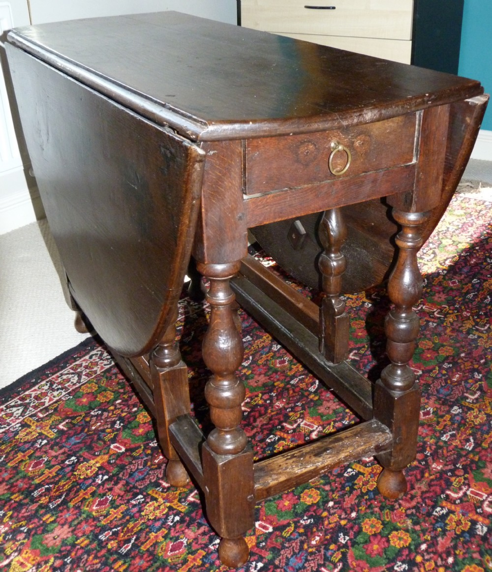oak gateleg table c16901730