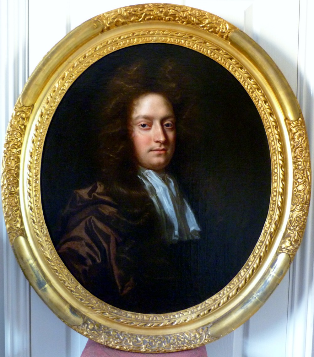 portrait of a gentleman c1695 by john closterman