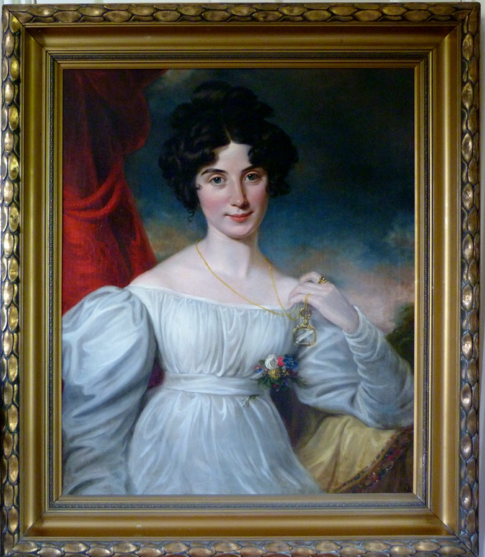 portrait of julia floyd later lady peel c1820 circle of sir thomas lawrence