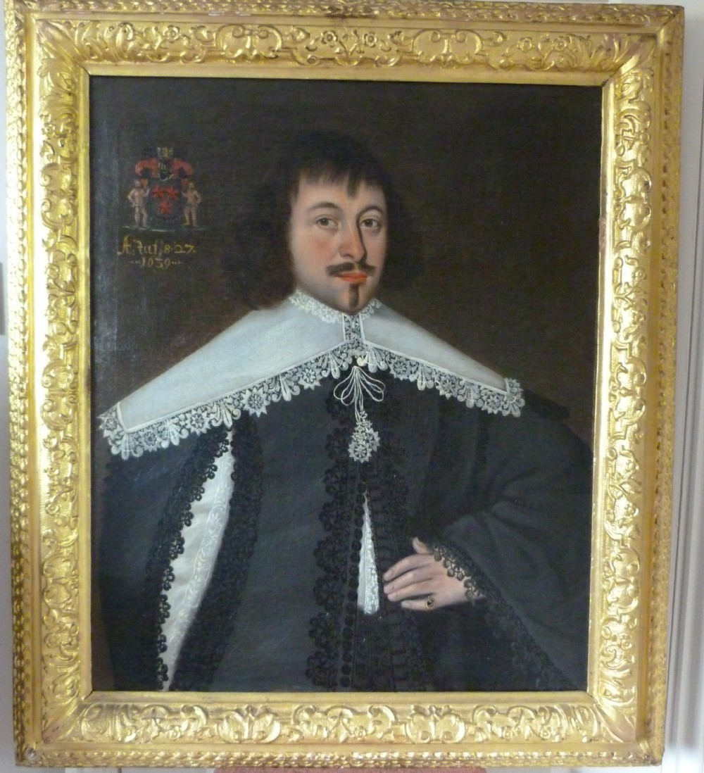 portrait of a nobleman 1639 follower of cornelius johnson