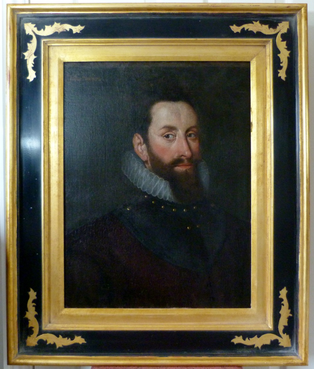 portrait of a gentleman c 1590 probably johan upchierts circle of adriaen thomasz key
