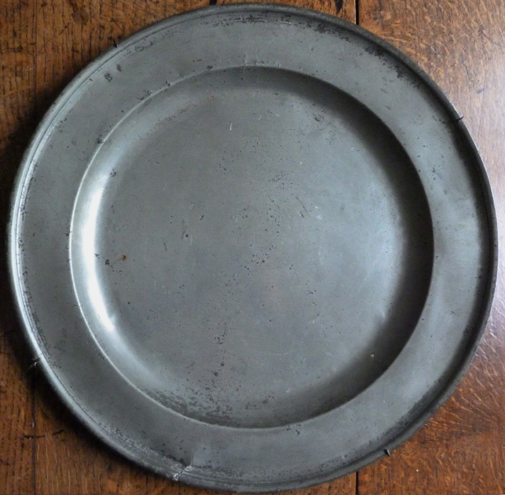 pewter charger c1720