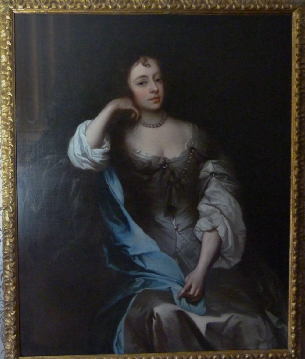 portrait of a lady possibly barbara villiers c1662 circle or studio of lely