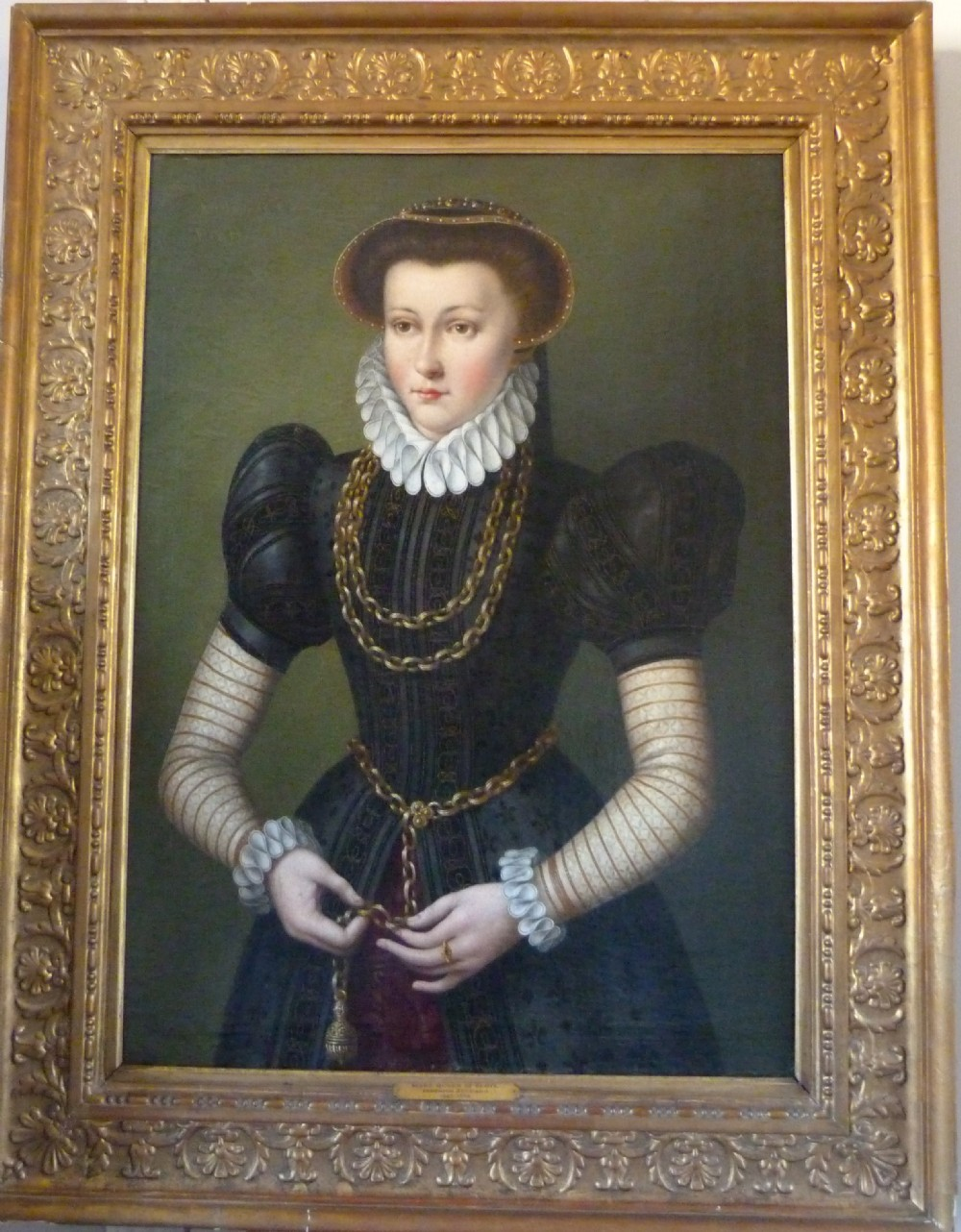 portrait of mary queen of scots manner of federico zuccaro