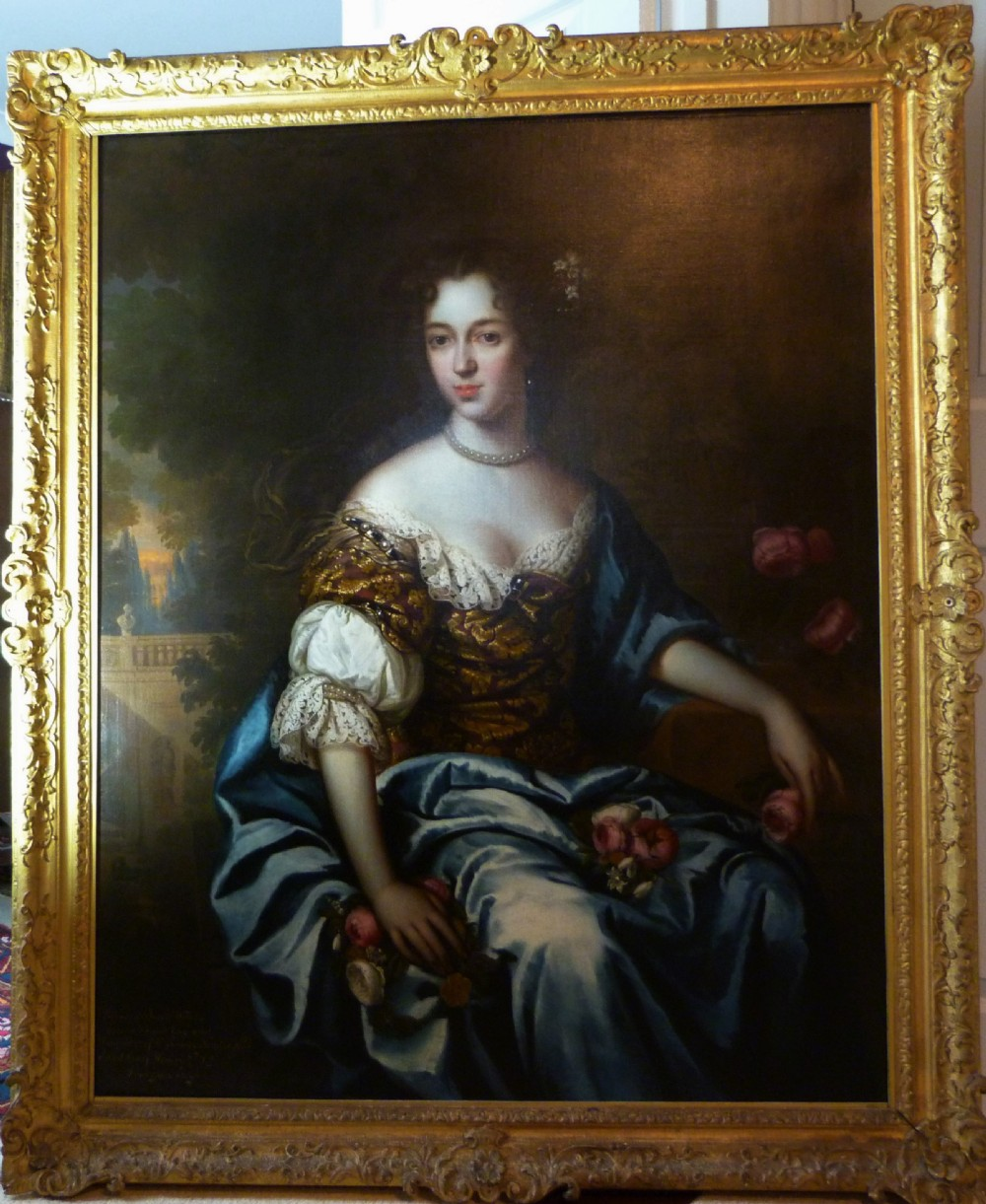 portrait of margaret neville attributed to henri gascar