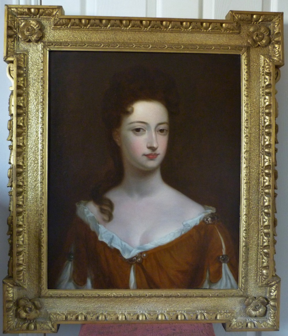 portrait of mary sackville countess of dorset after kneller 18th century