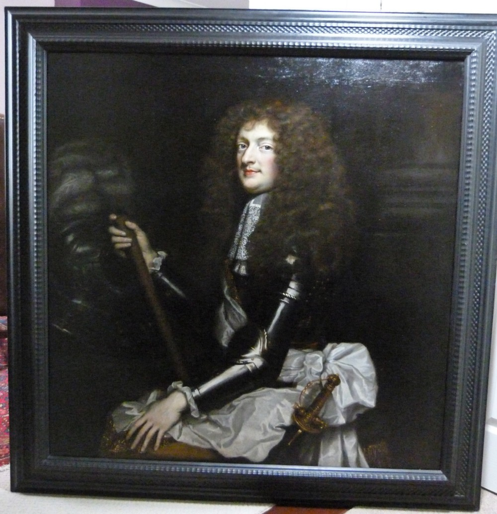 portrait of philippe ii duke of orleans c1706 attributed to jeanbaptiste santerre
