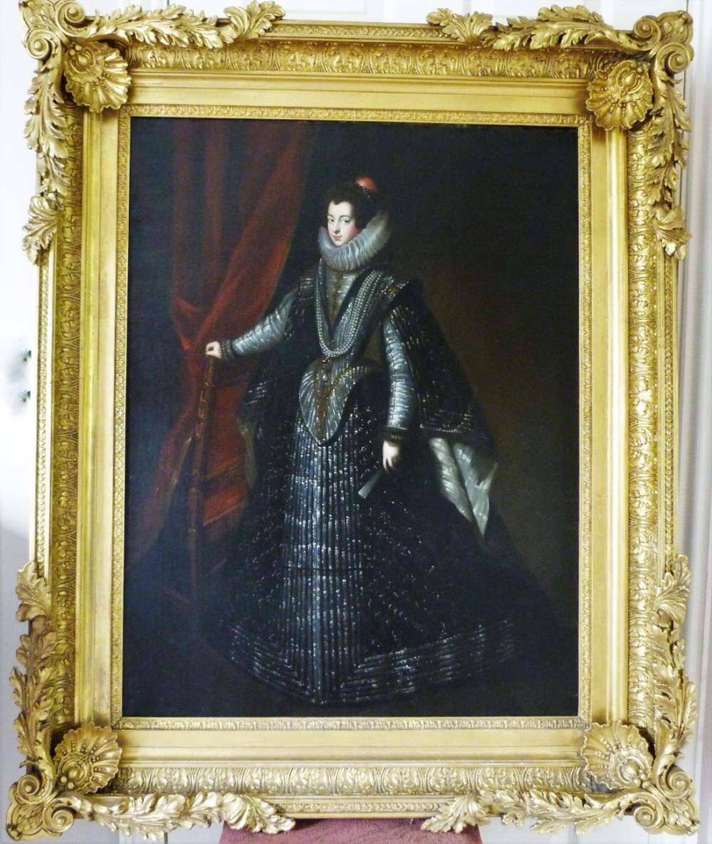 isabella de bourbon queen of spain after velasquez