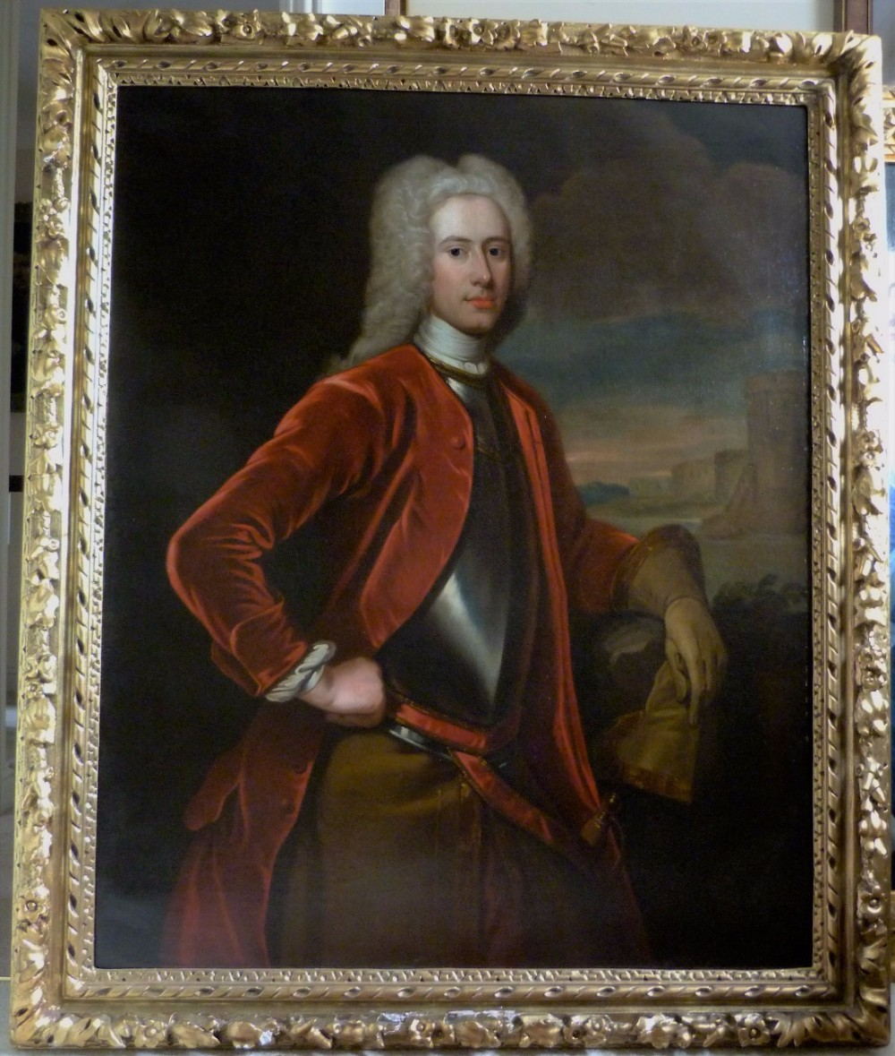 portrait of an officer c1725 by william aikman