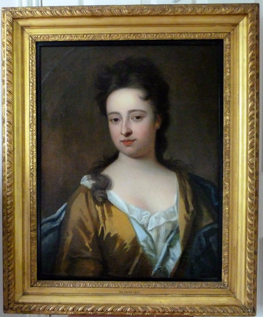 portrait of a lady c1710 follower of michael dahl