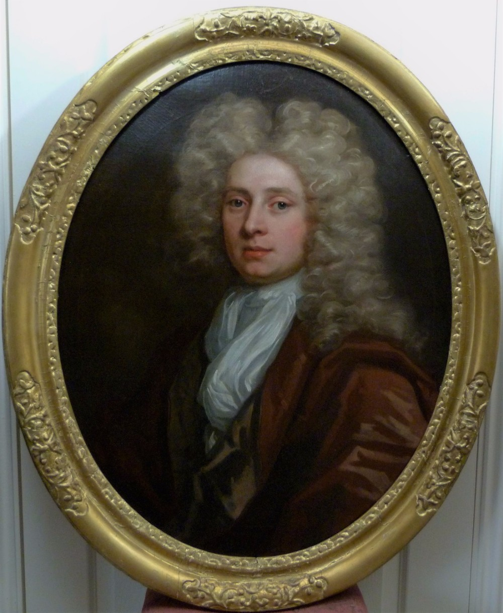portrait of a gentleman of the palmes family c1695 attributed to john closterman