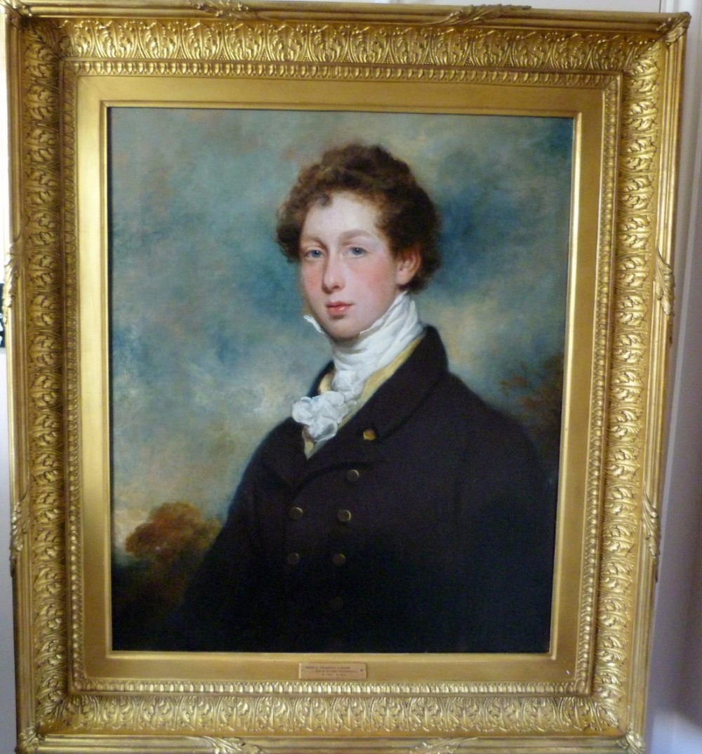 portrait of the hon frederick john shore c1820 by arthur william devis