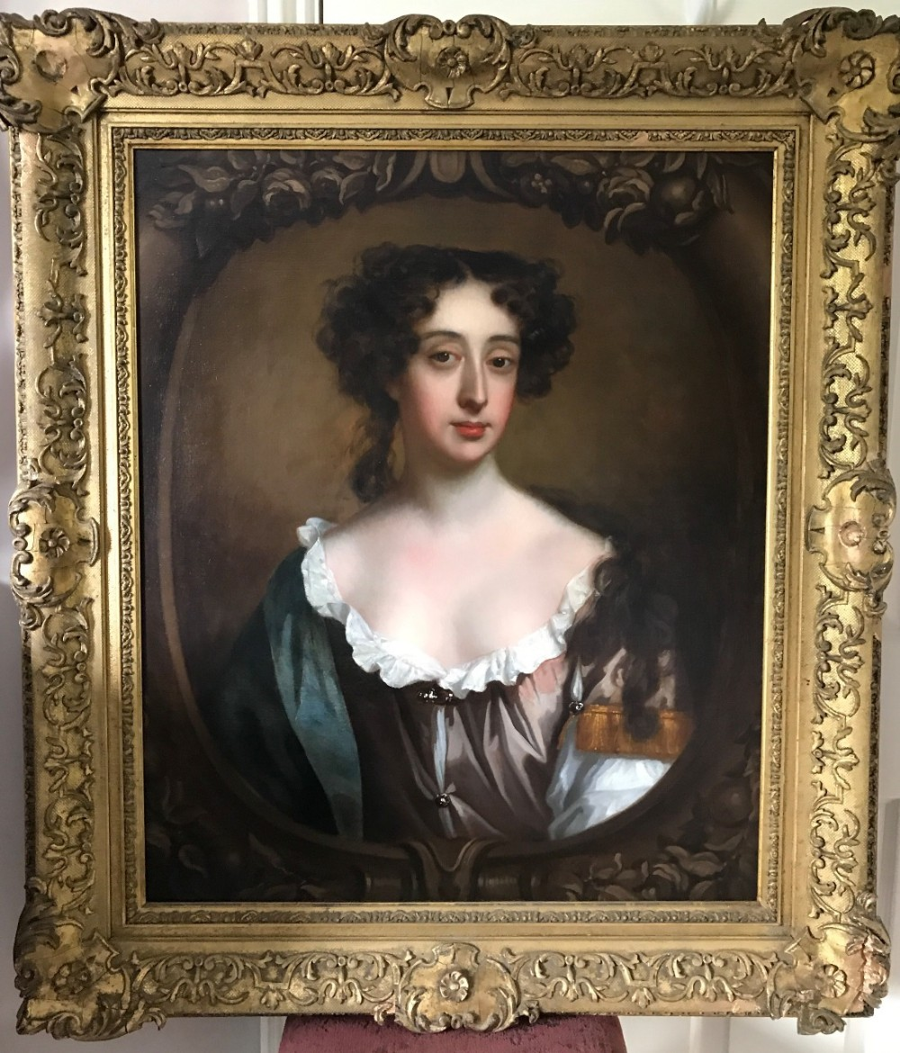 portrait of phillipa speke later lady trenchard 1682 by william wissing