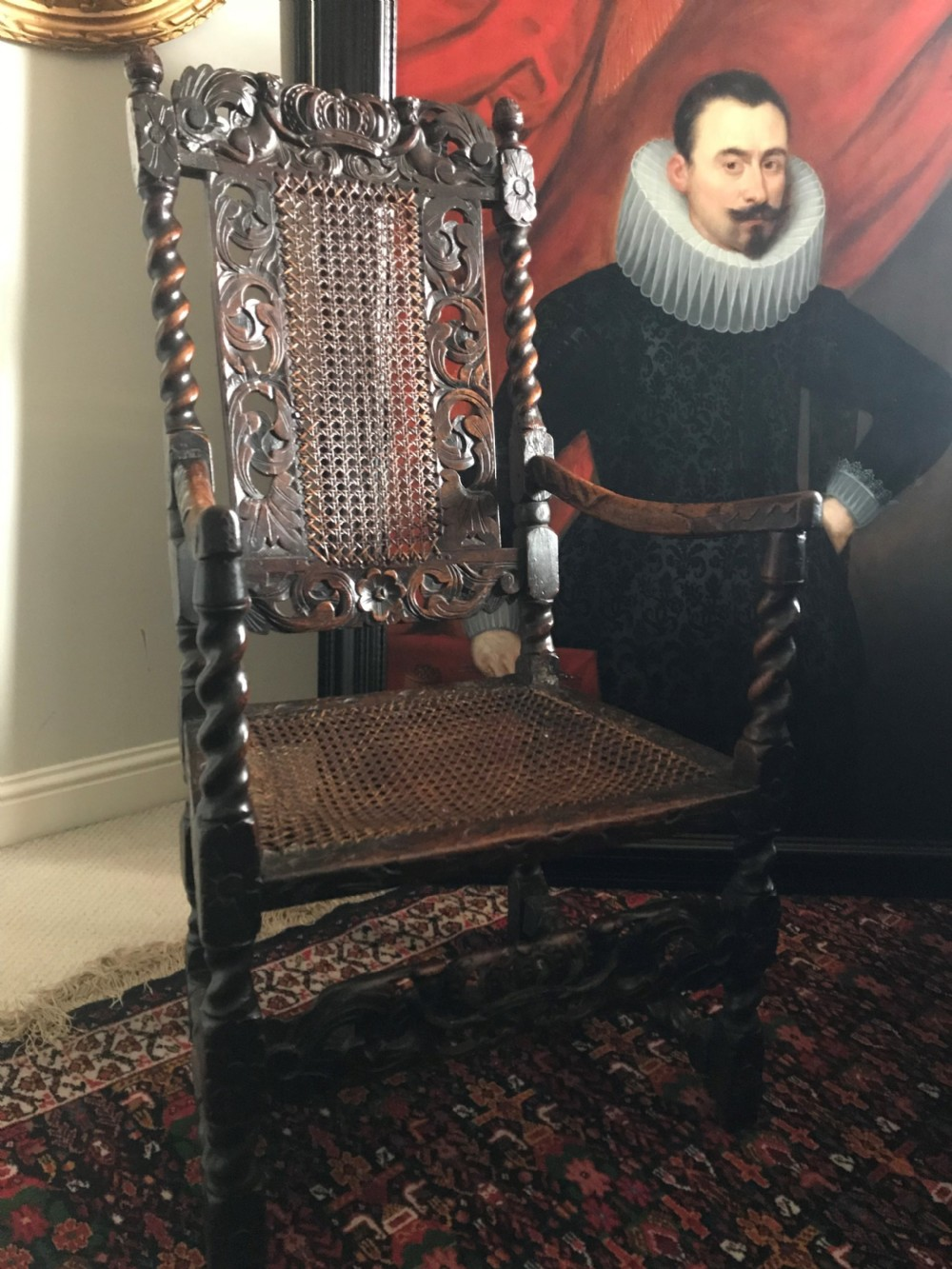 james ii armchair c1685
