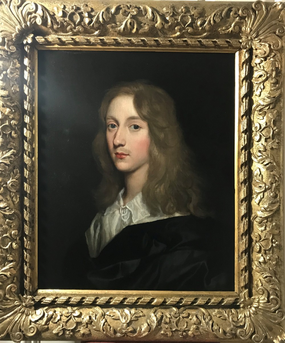 portrait of prince rupert mid 17th century studio or circle of van honthorst