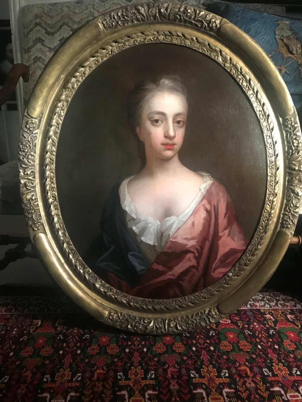 portrait of martha lovelace baroness wentworth c1692 studio of kneller