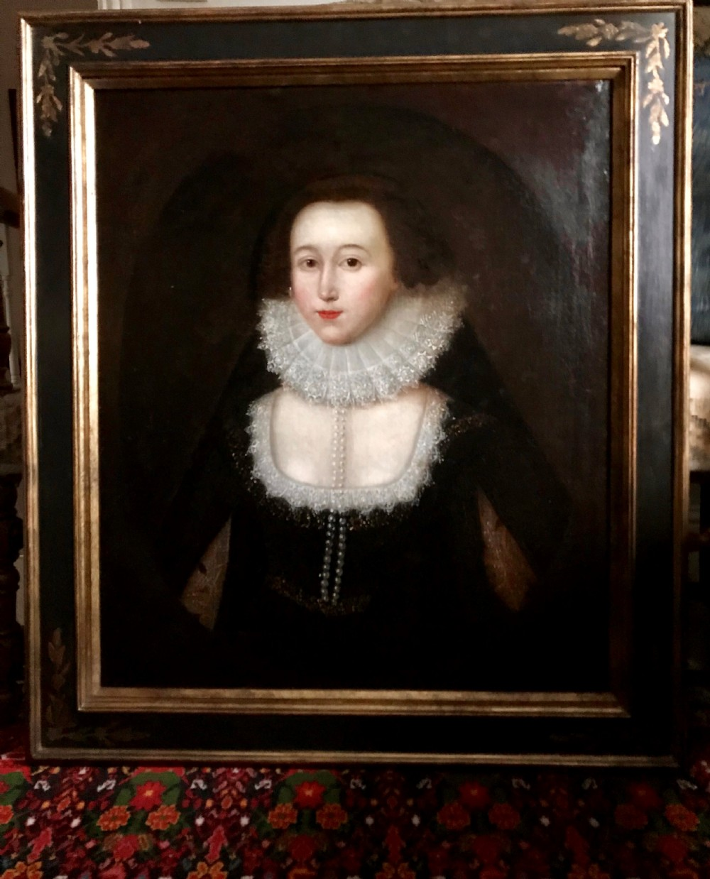 portrait of mary lady vere circle of william larkin