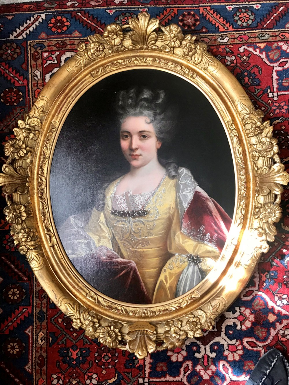portrait of madame de harlay after nicolas de largilliere