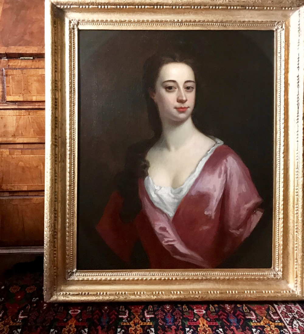 portrait of a lady c170010 circle of kneller