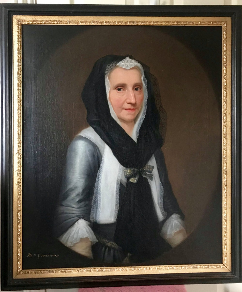 portrait of mrs grenaway 1730 by john theodore heins
