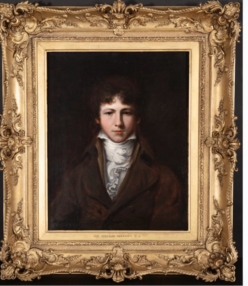 portrait of captain mackinley c1830 by sir william beechey