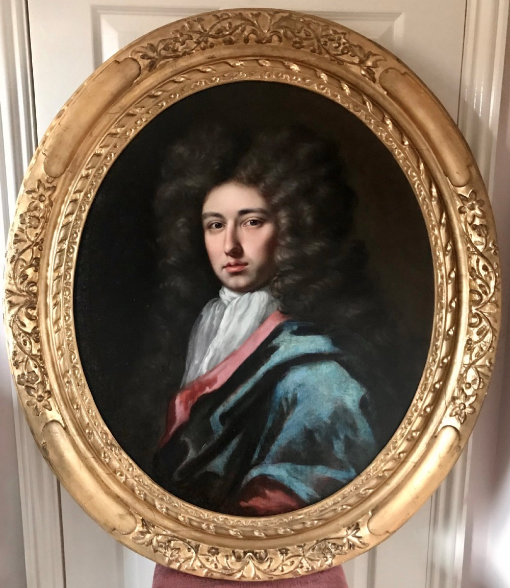 portrait of a gentleman c1695 attributed to john closterman