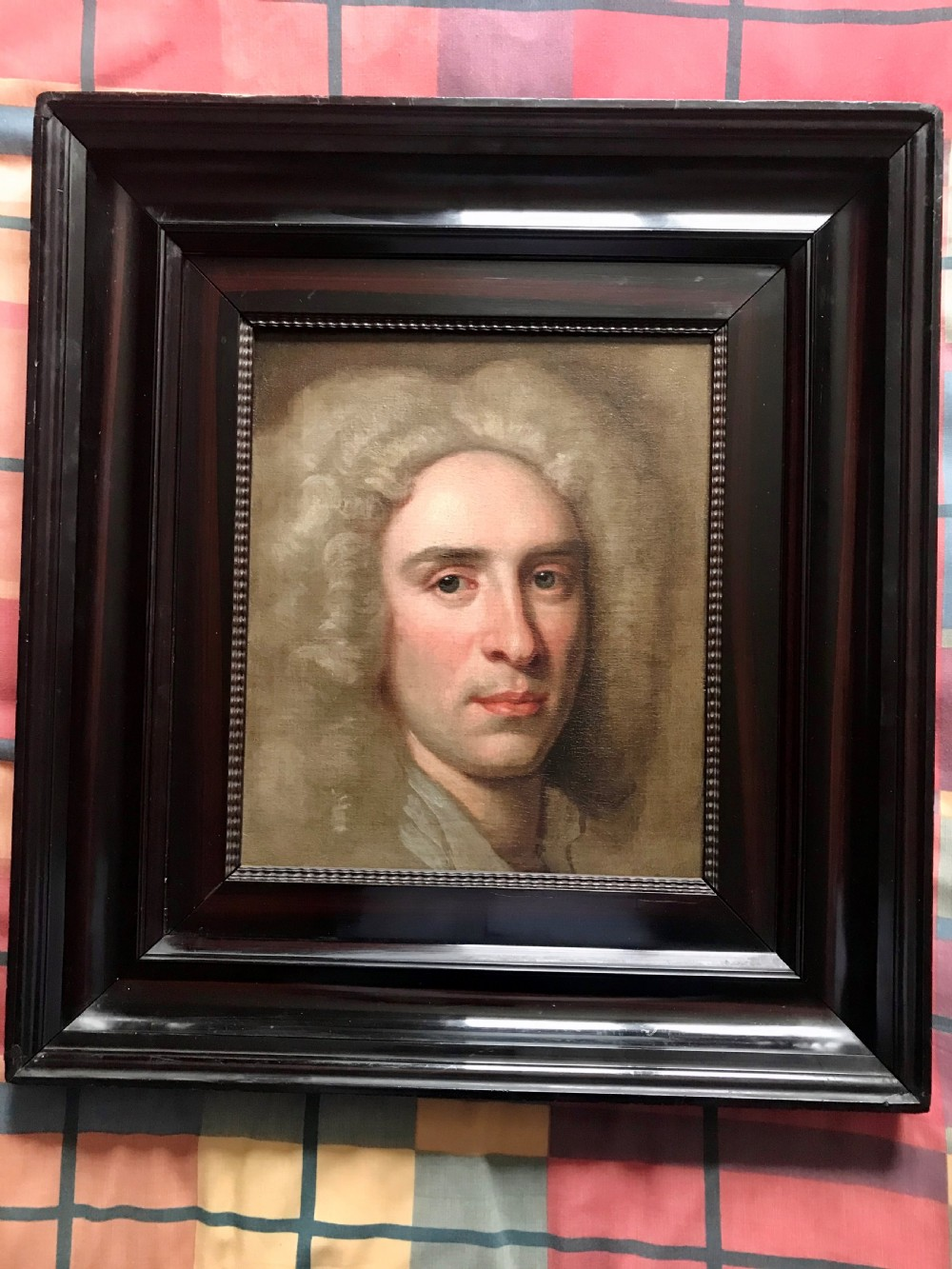 portrait thought to be of benjamin clapham of braithwaite hall west witton yorkshire c1730 by john vanderbank