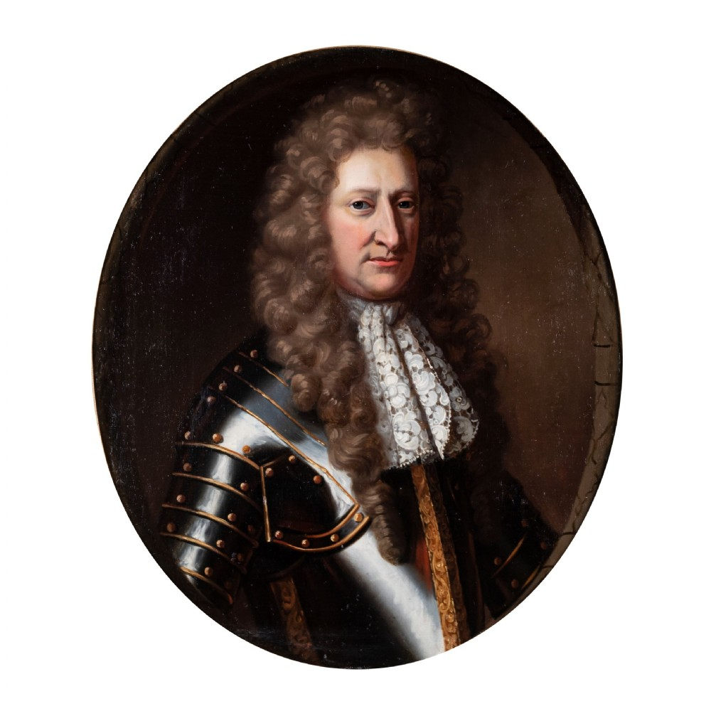 portrait of sir james richardson c1680 attributed to john riley