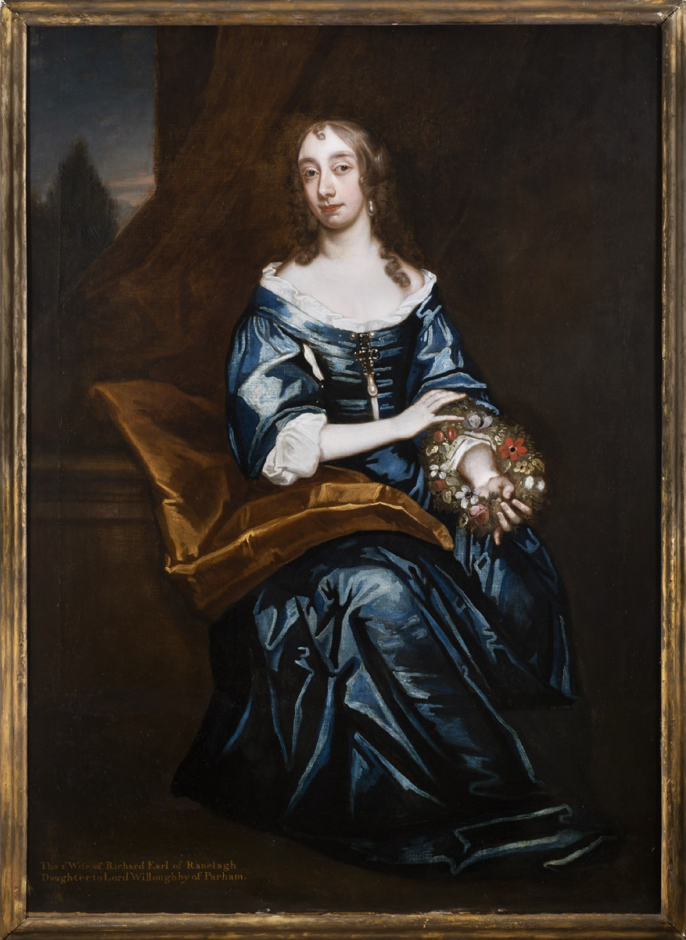 portrait of elizabeth willoughby countess of ranelagh circa 1662 studio of sir peter lely