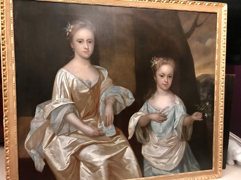 portrait of the trench sisters c1720 attributed to robert byng