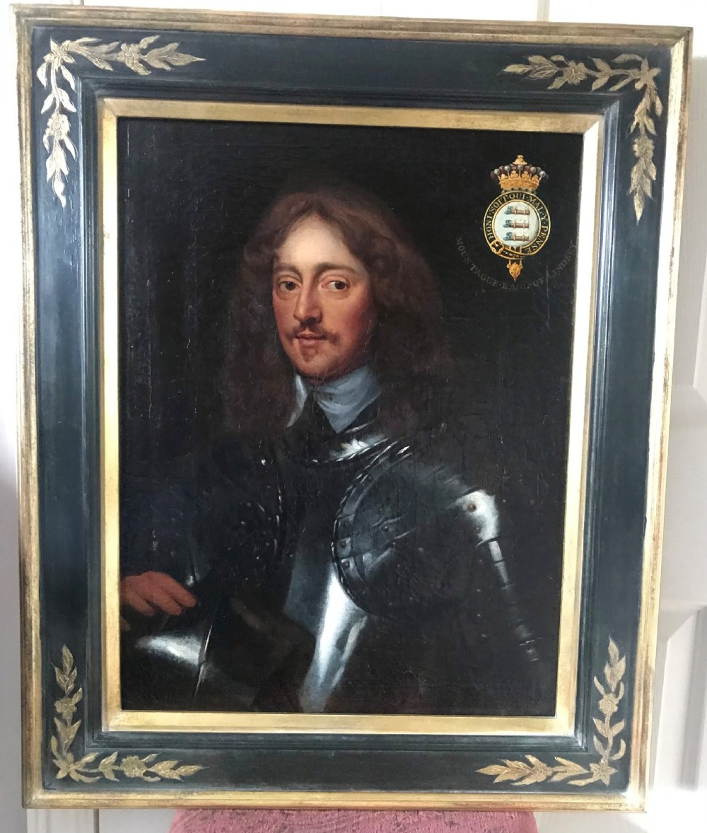 portrait of montagu bertie 2nd earl of lindsey studio or circle of william dobson